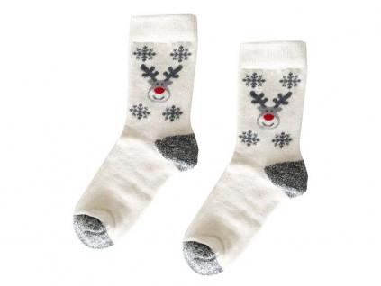 Bavlněné froté ponožky Rudolf - dětské - KB0004_05
