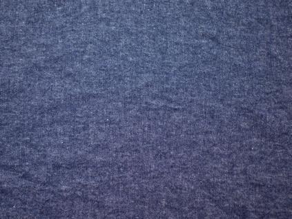Merino modrá - lněná látka měkčená - LPX009