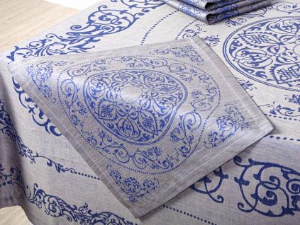Lenka modrá - lněný ubrousek - BL0172_01