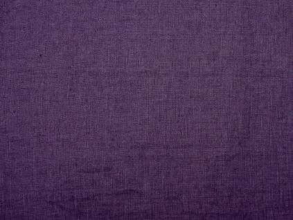 Lněná látka měkčená tmavě fialová - CNX030