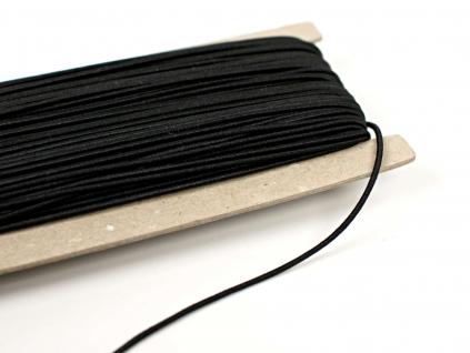 Pruženka 1,4 mm klobouková černá - VM0019_02
