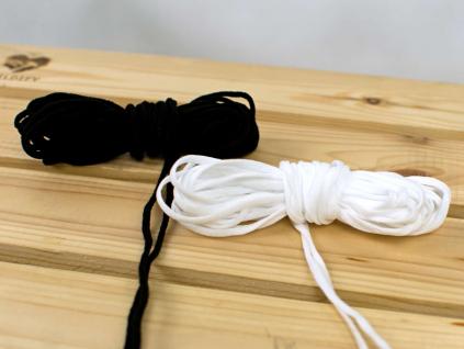Pruženka roušková 3 mm bílá - VM0020_01