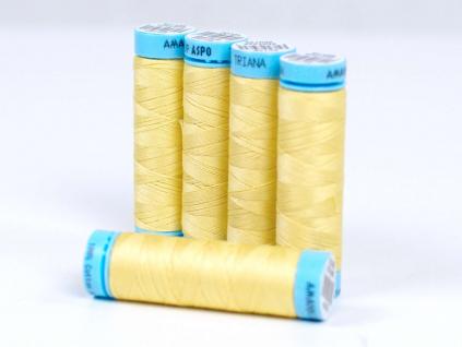 Bavlněná nit kopretinová žlutá (0114) 100 metrů - VT0022