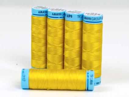 Bavlněná nit teplá žlutá (0117) 100 metrů - VT0023