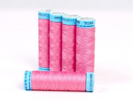 Bavlněná nit růžová (0867) 100 metrů - VT0029