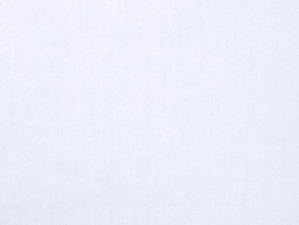 Třpytivě bílá lněná látka 120g/m2 - LIX025