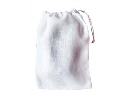 Lněný pytlík bílý - SS0001_08