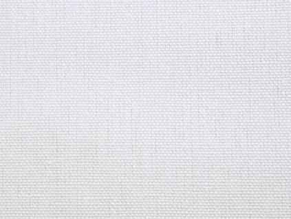 Helena bílá lněná látka 405g/m2 - BLX069