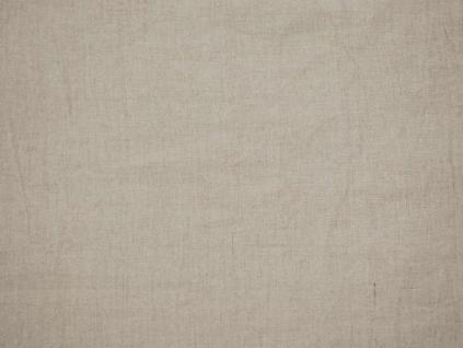 Lněná látka přírodní měkčená 320 cm - LPX012