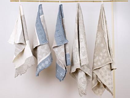 Pampeliška - lněný ručník - BL0183