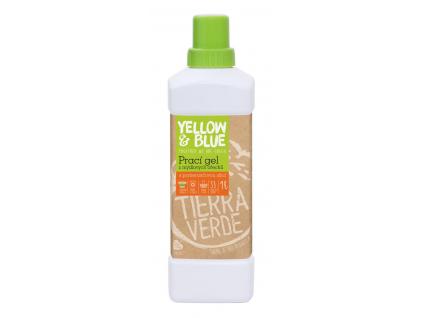 Prací gel z mýdlových ořechů s pomerančovou silicí Tierra Verde - TV0015