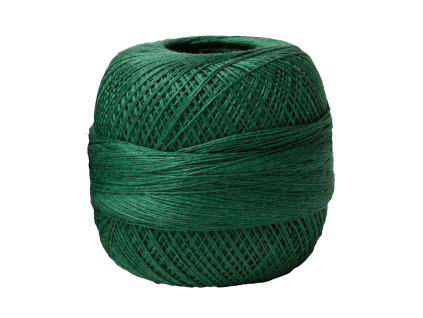 Lněná příze TEX50x3 zelená - LI0012_02