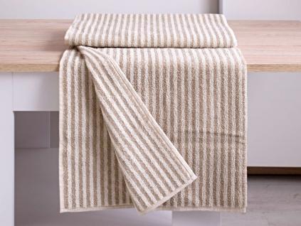 MICHAL přírodní ručník len/bambus - FL0021