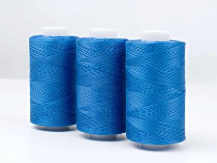 Bavlněná nit modrá (3871) 1000 yards - AP0036
