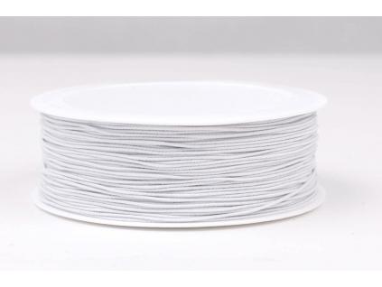Optex pružná nit bílá - 0,8 mm - VT0060