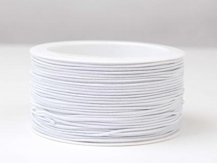 Pruženka 1,2 mm klobouková bílá - VT0061