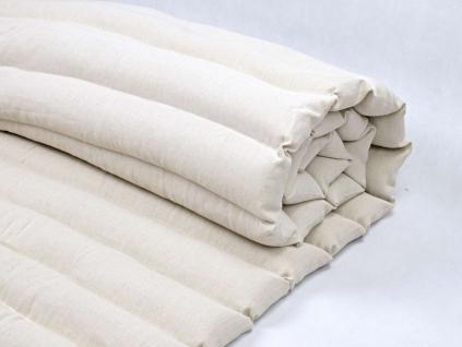 Futon pohankový - bavlna/len - 5cm