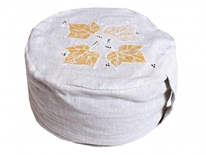 Meditační pohankový sedák Břečťan 14 cm