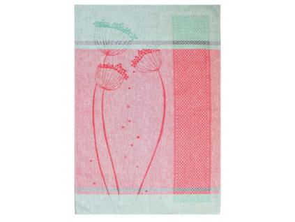 Lněná utěrka - Flora 1 - BL0074