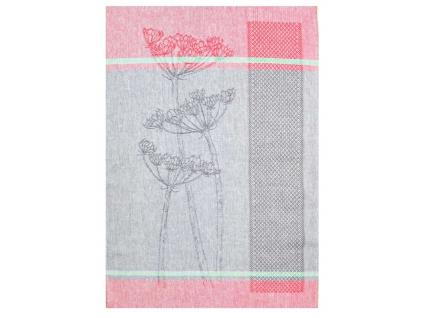Lněná utěrka - Flora 2 - BL0075