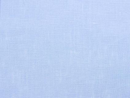 Lněná látka světle modrá měkčená - CNX011