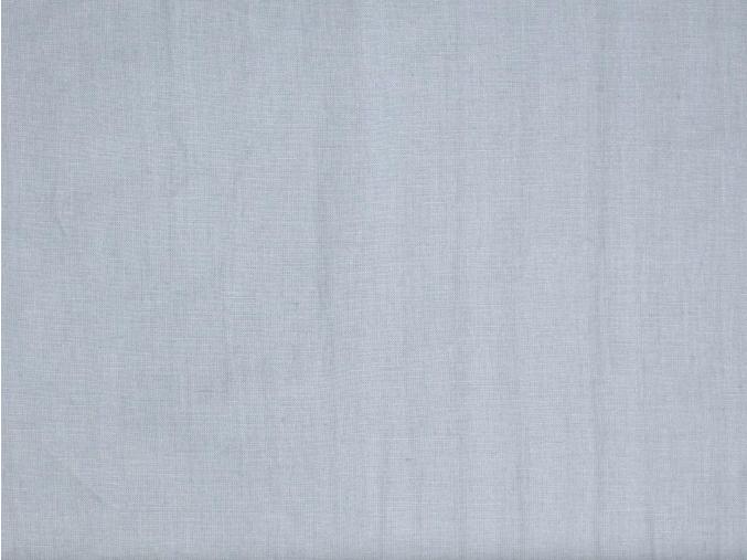 Vzorek - Lněná látka holubičí šeď měkčená