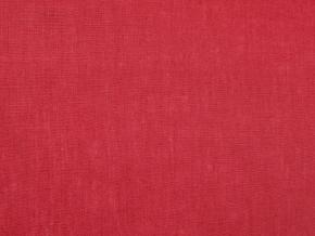VZOREK - Lněná látka červená měkčená