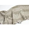 Lněný ručník soft tmavý proužek