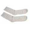 Ponožky lněné hladké natural