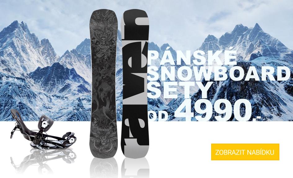 Pánské snowboard komplety