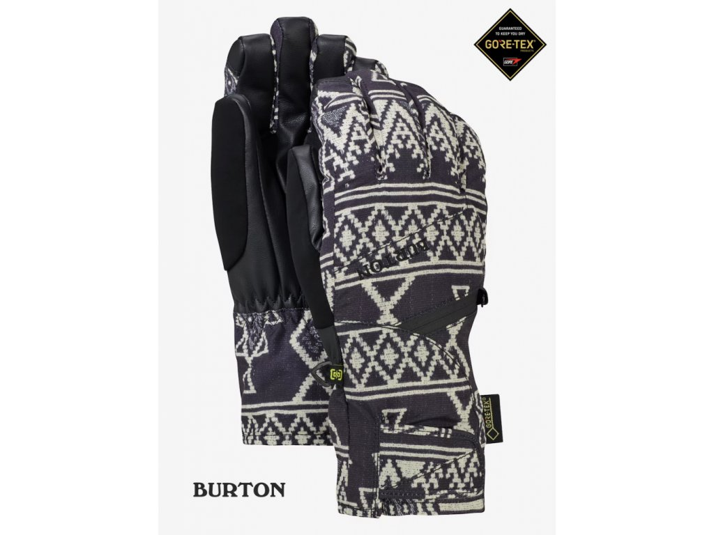 Rukavice Burton Gore-tex® glove true black mojave