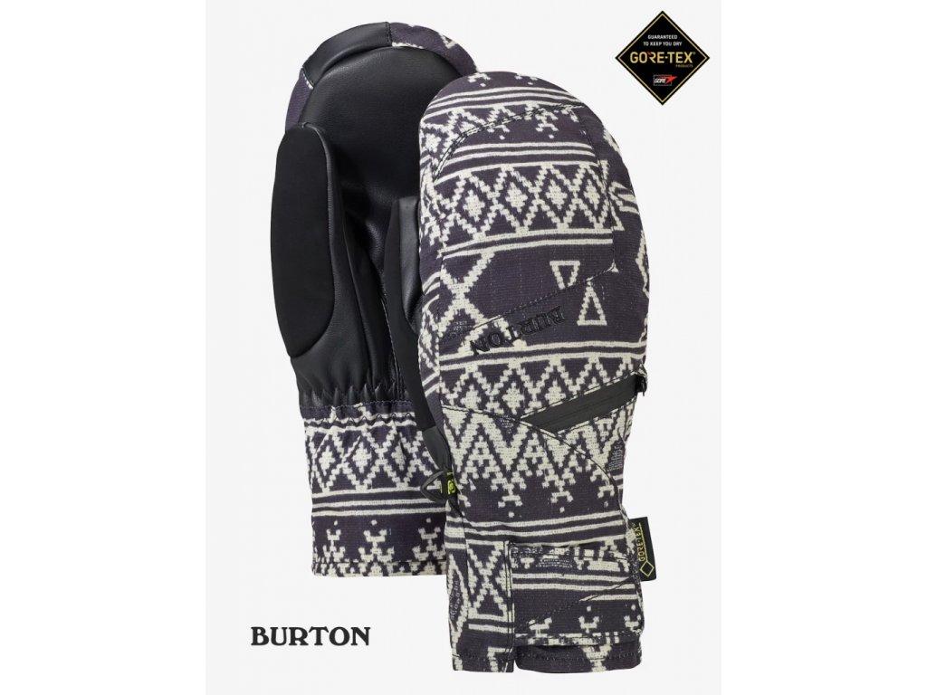 Palčáky Burton Gore-Tex® mitt true black mojave