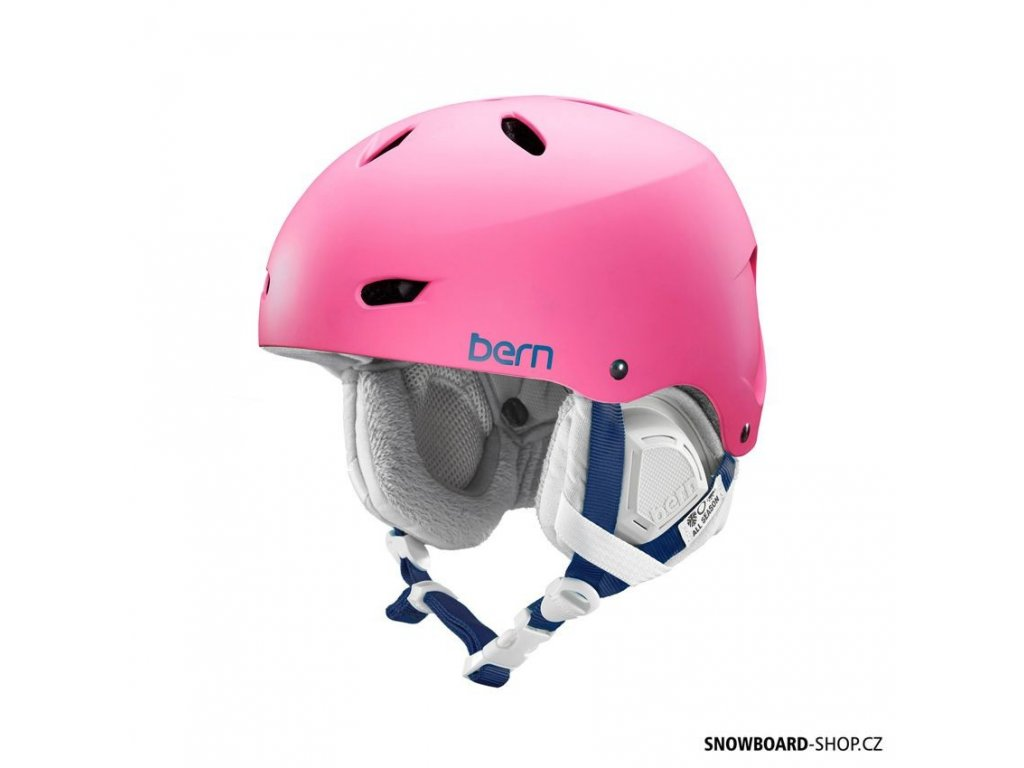 Helma na snowboard Bern Brighton bubblegum pink