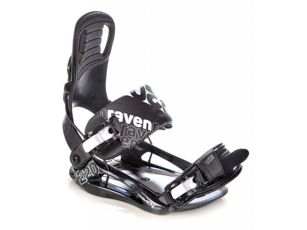 Vázání Raven s220 black