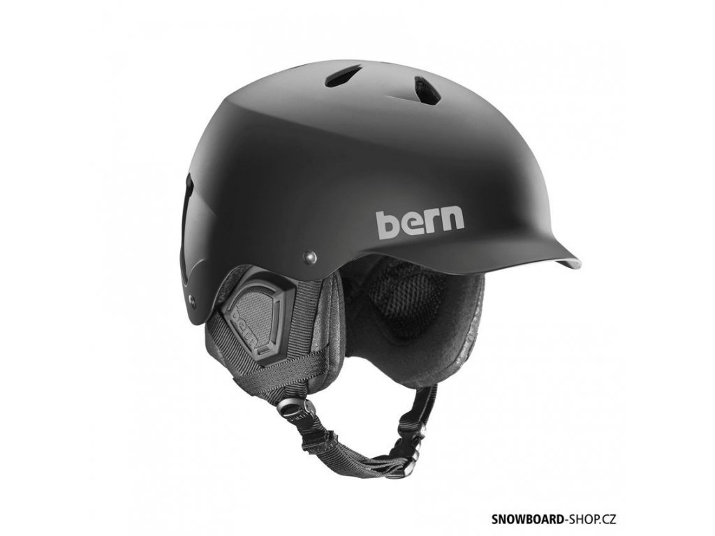 Helma na snowboard Bern Watts matte black boa
