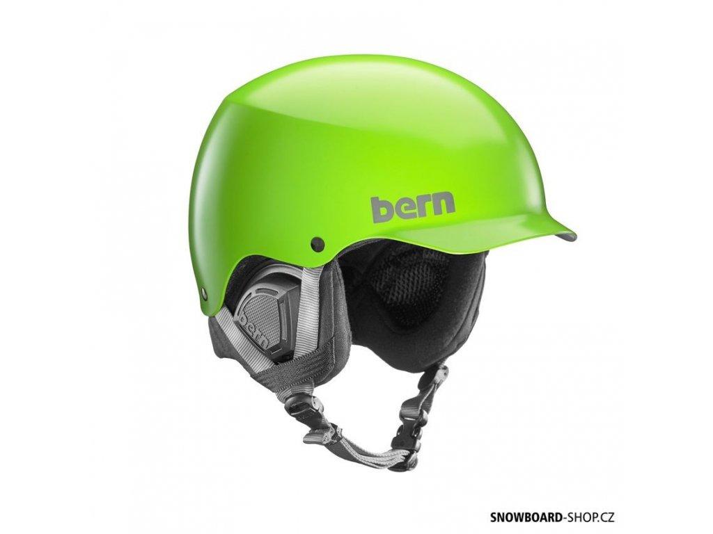 Helma na snowboard Bern Baker BOA satin neon green