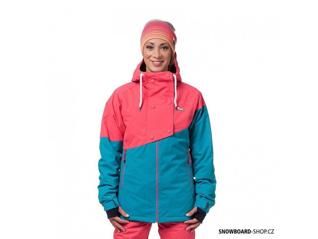 Snowboard bunda Horsefeathers Momo pink