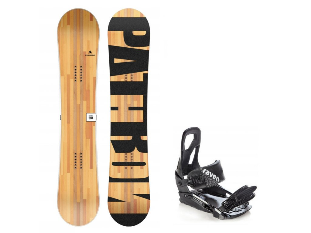 Snowboard komplet Pathron Slash + vázání s200