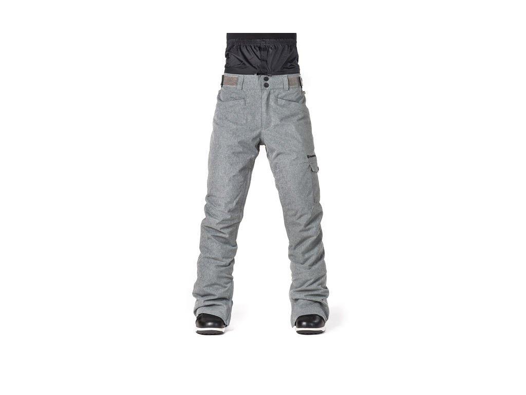 kalhoty Horsefeathers Eve gray melange
