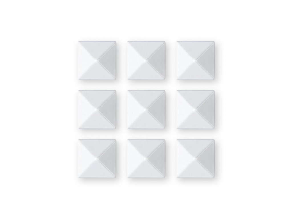 Grip Gravity Pyramid Studs white 20/21