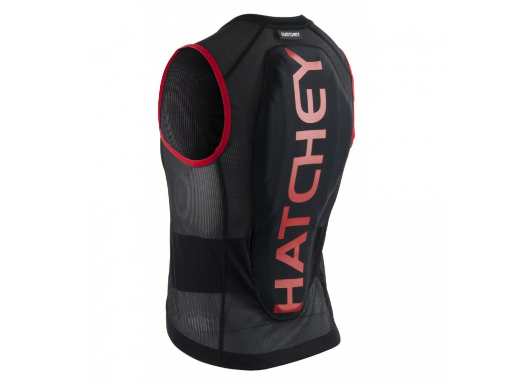 Páteřák HATCHEY Vest Air Fit red