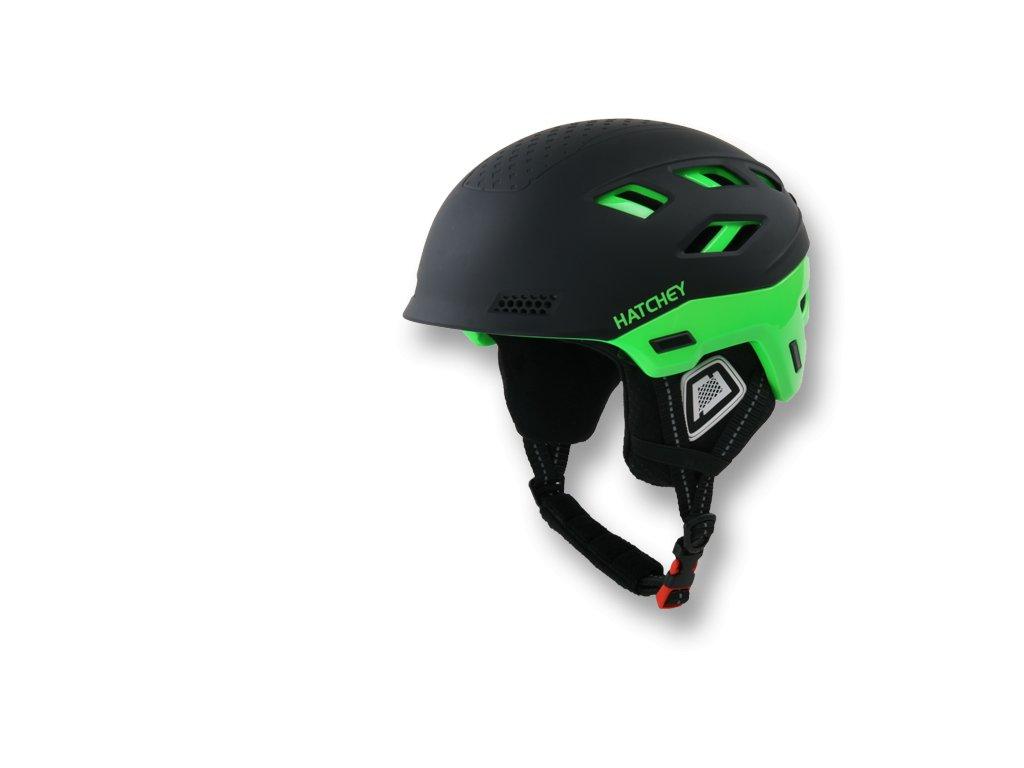 Helma na snowboard HATCHEY Desire black/green