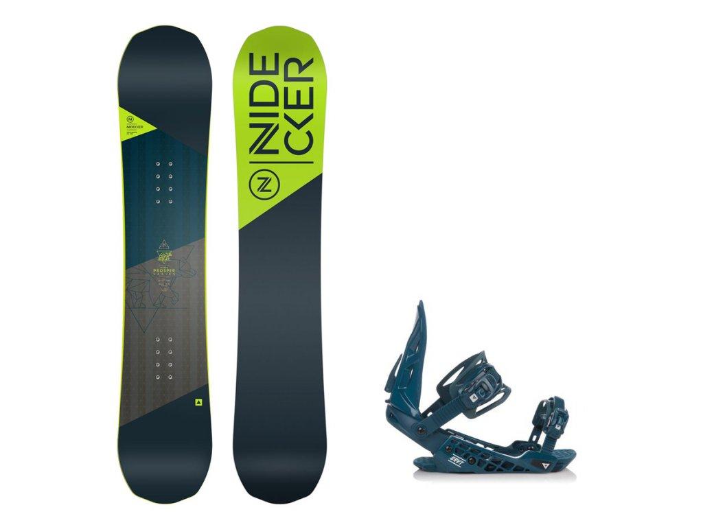 Dětský snowboard komplet Nidecker Micron Prosper + vázání G2
