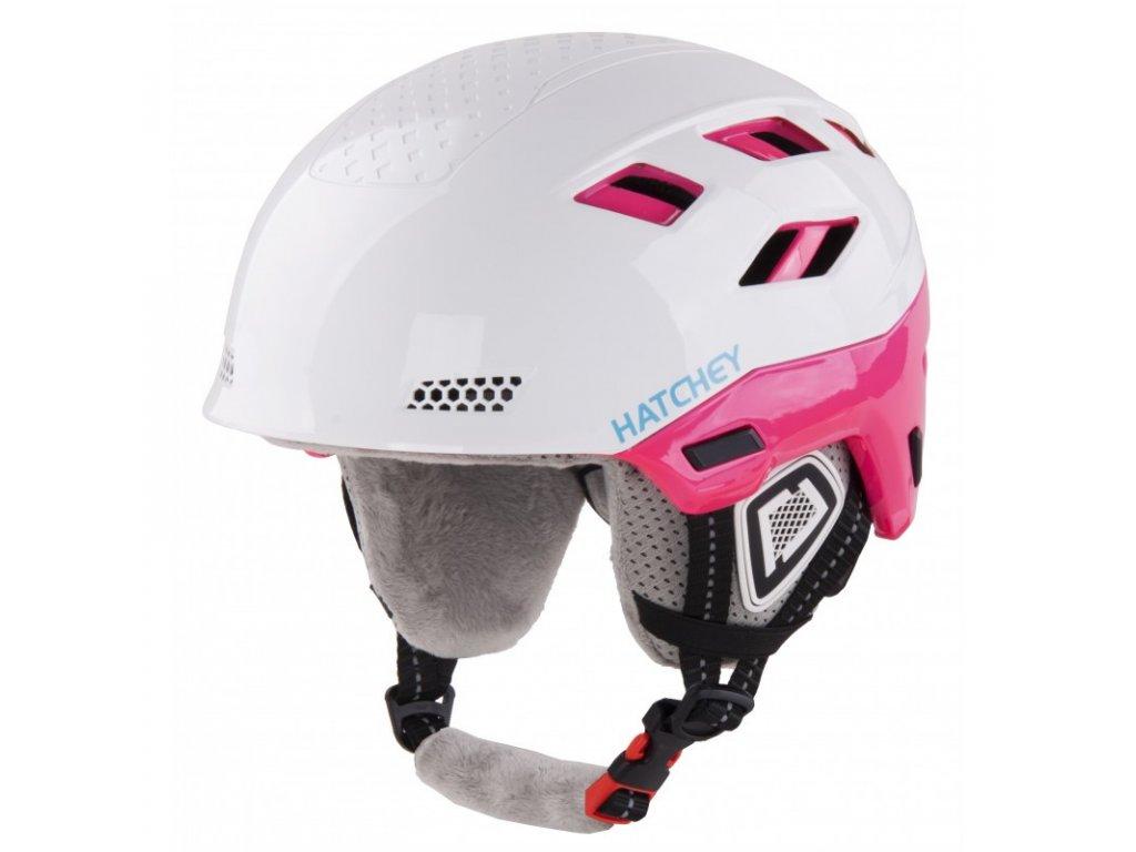 Helma na snowboard HATCHEY Desire white/pink