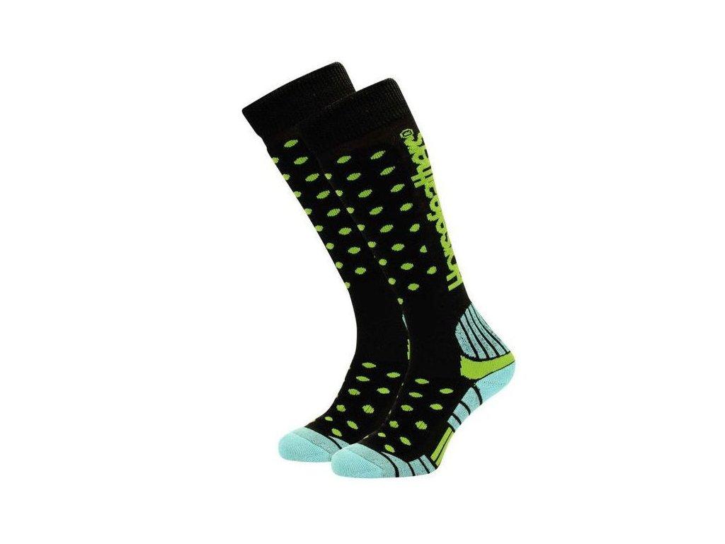 Snowboard ponožky Horsefeathers Doreen thermolite black