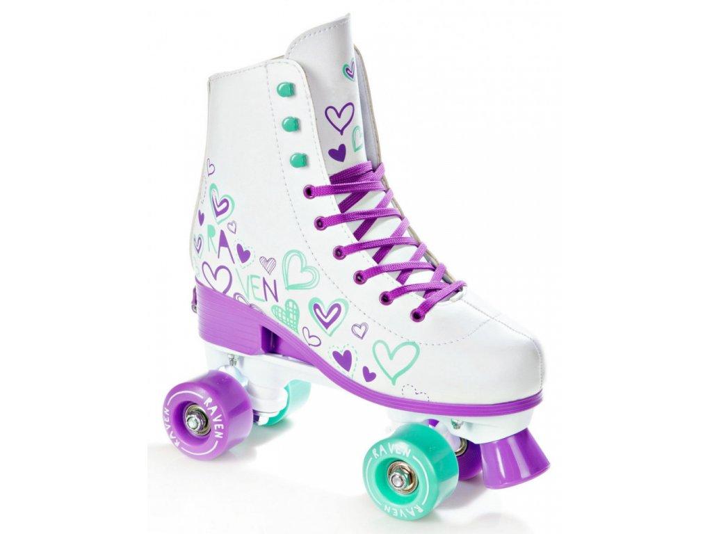 Trekové Roller brusle Raven Trista violet/mint