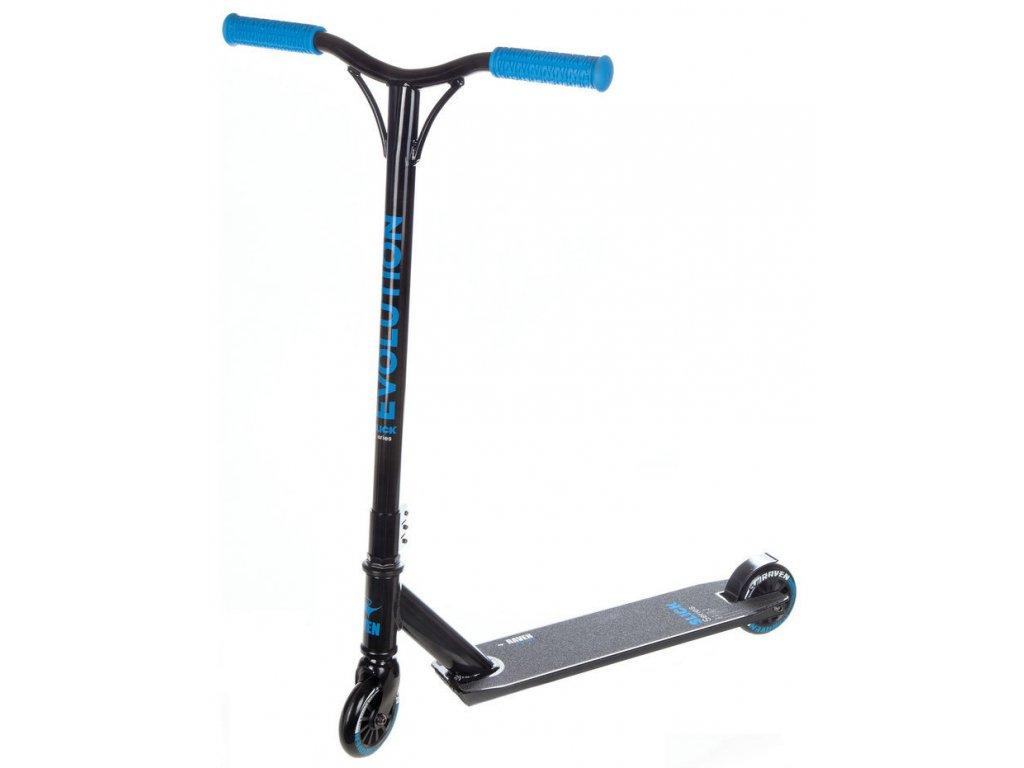 Freestyle koloběžka Raven Evolution Slick ABEC9 100mm Blue