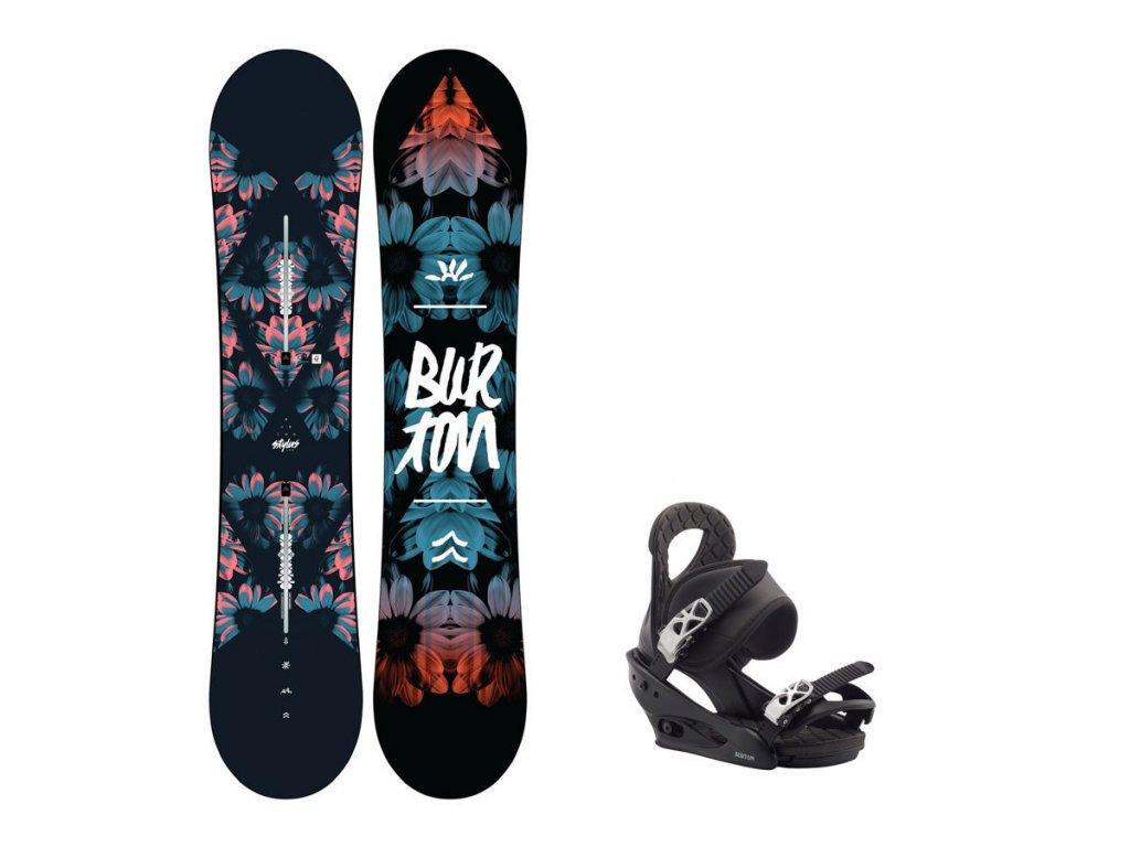 Snowboard komplet Burton Stylus 19/20 + vázání Citizen