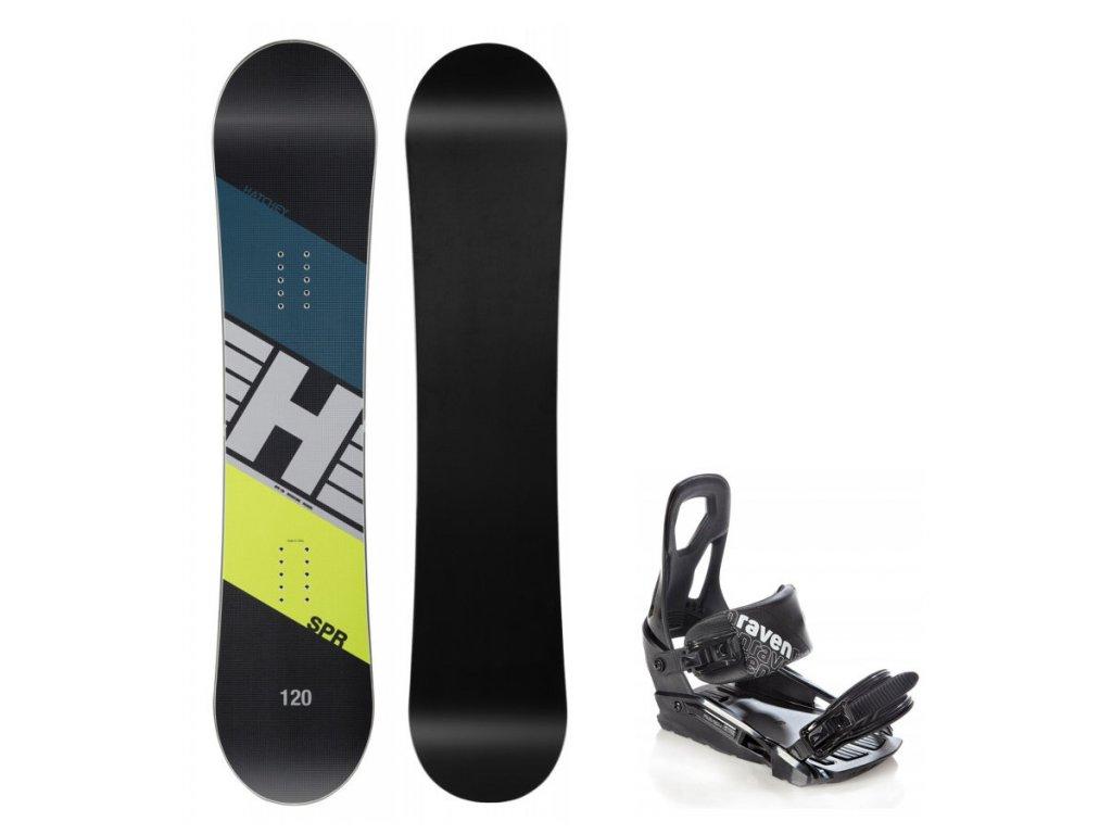 Dětský snowboard set Hatchey SPR junior (130, 135, 140cm) + vázání S200