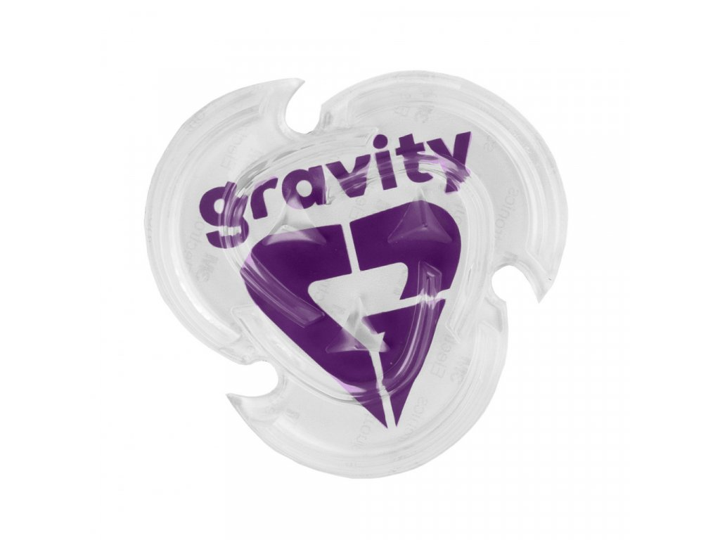 Grip Gravity Heart clear/violet 20/21